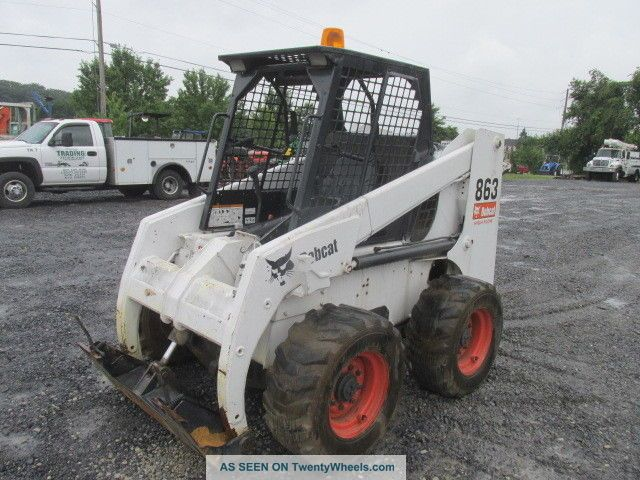 1996 Bobcat 863 Skid Steer Loader.  Machine Needs Work Skid Steer Loaders photo