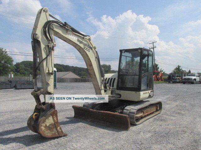 2006 Ingersoll Rand Zx75 Midi Excavator W/ Cab Excavators photo