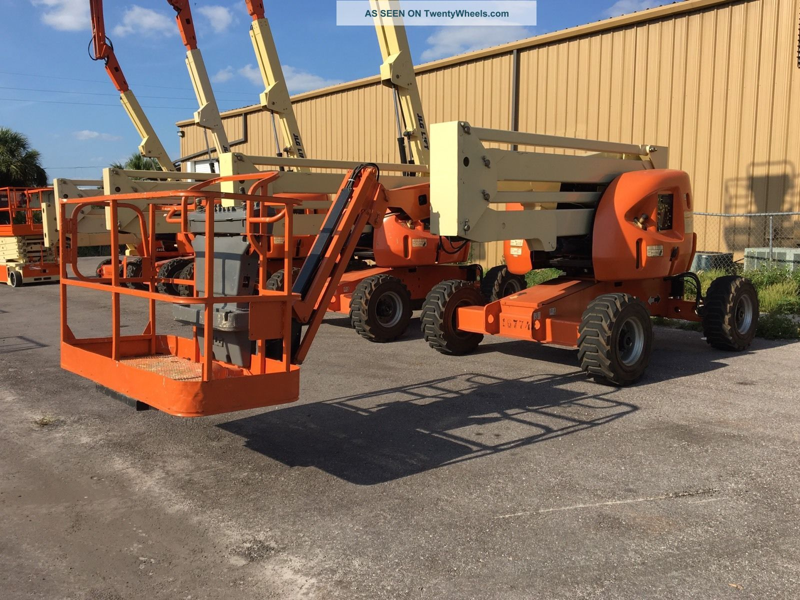 Jlg Boom Lift 450aj 2012 Scissor & Boom Lifts photo