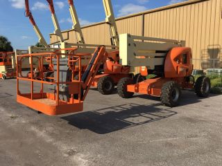 Jlg Boom Lift 450aj 2012 photo