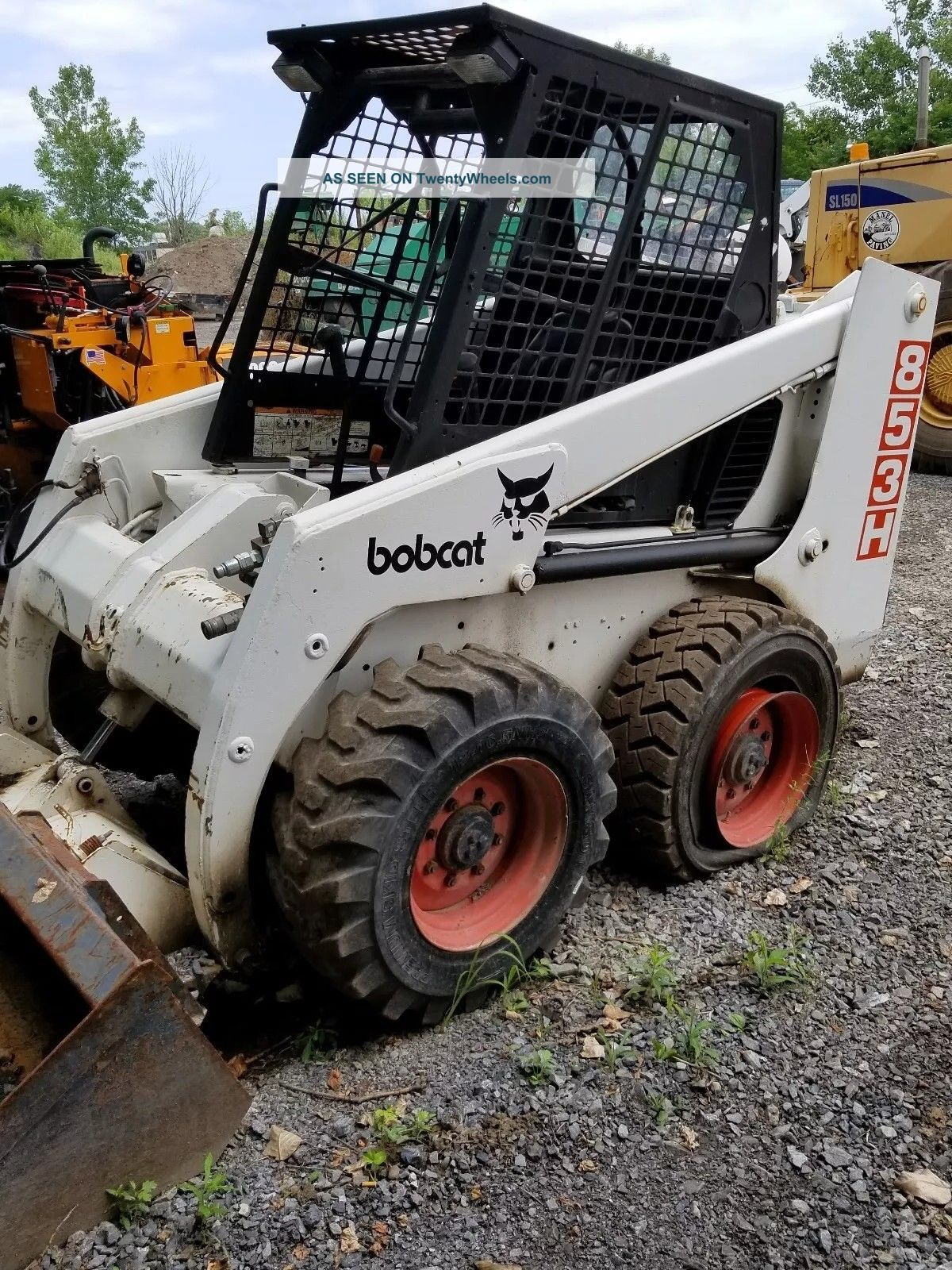 Bobcat Skid Steer 853h Skid Steer Loaders photo