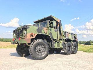 Bmy M929 A2 2010 Rebuilt Military 6x6 Dump Truck 5 Ton Am General Cargo M923 photo