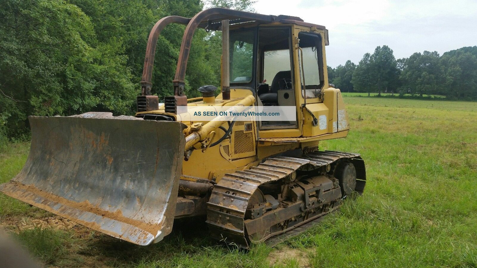 1997john Deere 750c Dozer (she Ain ' T But Still Very Capable Of Days Work) Crawler Dozers & Loaders photo