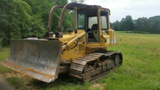 1997john Deere 750c Dozer (she Ain ' T But Still Very Capable Of Days Work) photo