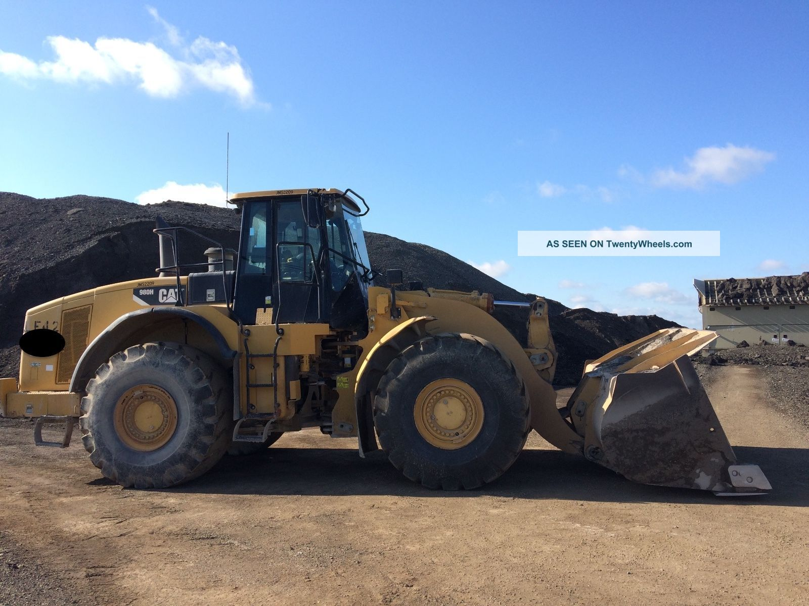 2007 Caterpillar 980h Wheel Loader; Tx Machine Wheel Loaders photo