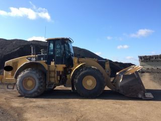 2007 Caterpillar 980h Wheel Loader; Tx Machine photo