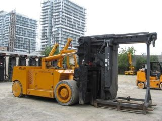 Versalift 140,  000 Lb Capacity Propane Forklift photo
