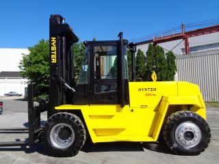 2001 Hyster H280xl 28,  000 Lbs Forklift - Diesel - Side Shift - Cab - Tires photo