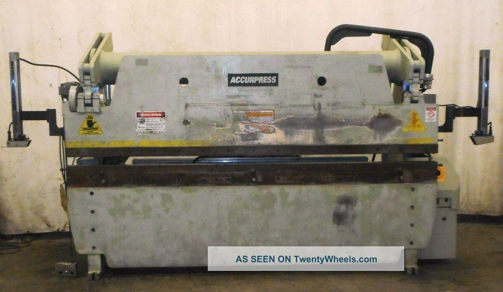 Accurpress,  Hydraulic Press Brake,  Part No.  76010,  60 Tons,  10 ' Bed Press Brakes photo
