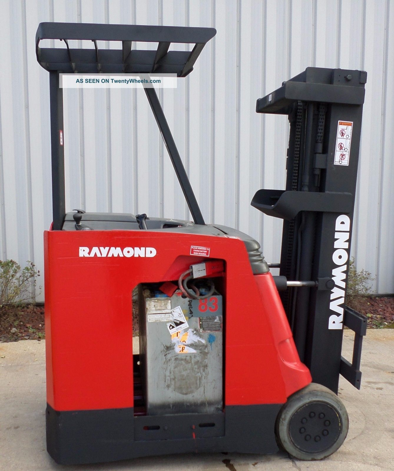 Raymond Model R30c30tt (2006) 3000lbs Capacity Great Docker Electric Forklift Forklifts photo