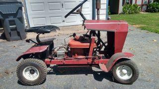 Antique Continental Garden Tractor photo