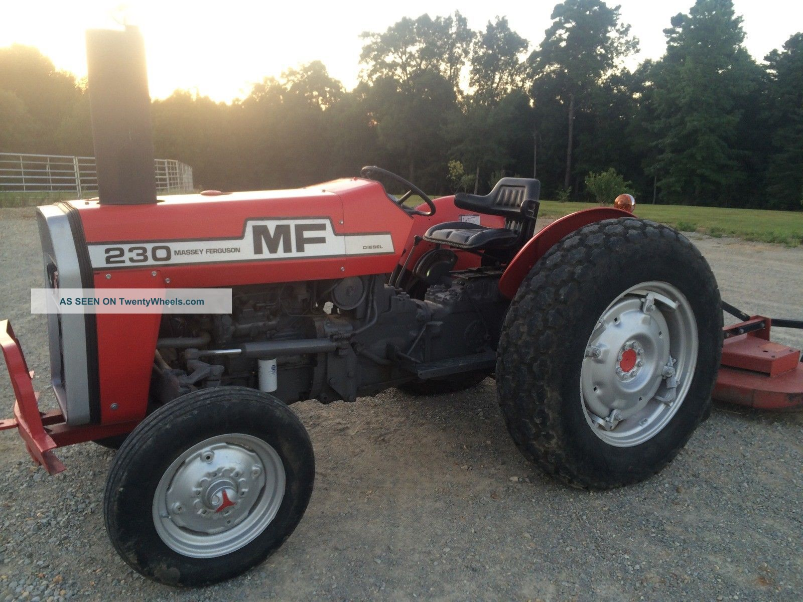 Massey Ferguson 230 Farm Tractor.  & Fancy As U Will Find Tractors photo