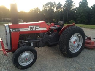 Massey Ferguson 230 Farm Tractor.  & Fancy As U Will Find photo