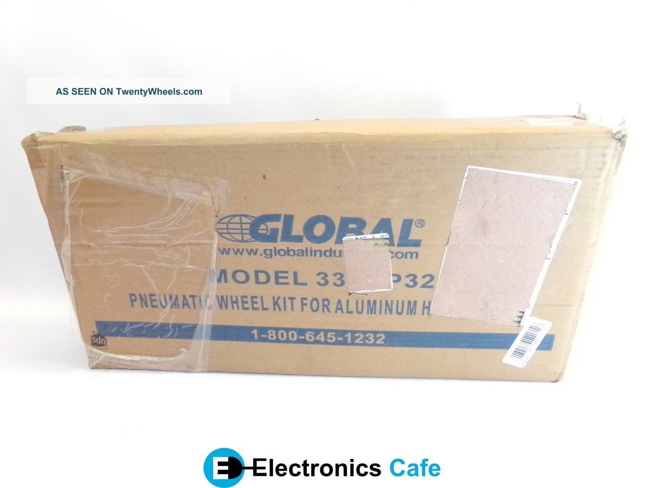 Global 330cp32 Pneumatic Wheel Kit For Aluminum Hand Truck Item See more Global 330CP32 Pneumatic Wheel Kit for Aluminu... photo
