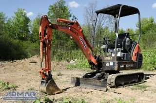 2011 Kubota Kx41vr1t4 Excavator,  With Open Cab,  And Standard Blade. photo