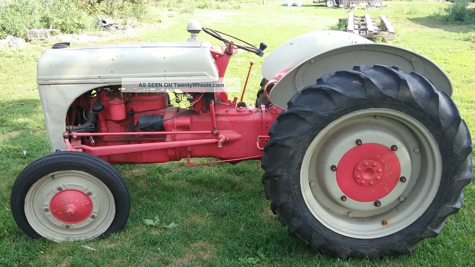 Ford 8n Tractor Runs,  Condition Antique & Vintage Farm Equip photo